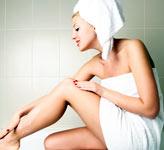 женщина с кожей тела, фото