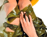 Маска для тела из морской капусты