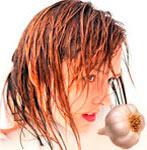 Мед и чеснок от выпадения волос