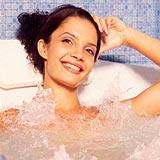 Домашние антицеллюлитные ванны для похудения