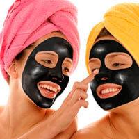 Черная маска от черных точек своими руками в домашних условиях, фото на лице