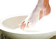 ноги в ванночке, фото