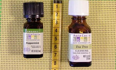 эфирное масло мяты, эфирное масло чайного дерева, aura, айхерб, отзывы