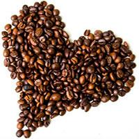 кофе сердечком, фото
