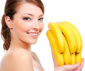 маска от морщин с бананом