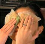 маска на глазах, фото