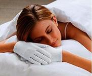 ночные перчатки для рук, фото