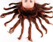 Маска для волос с двумя видами глин
