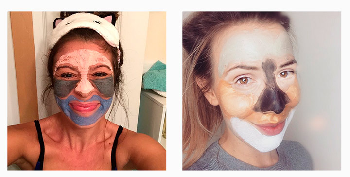 multimasking Instagram