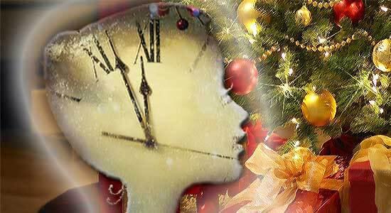 Тотальная подготовка лица к Новому году
