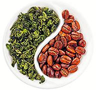 Кофе с зеленым чаем, фото