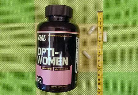 Optimum Nutrition, Opti-Women, Система оптимизации питательных веществ
