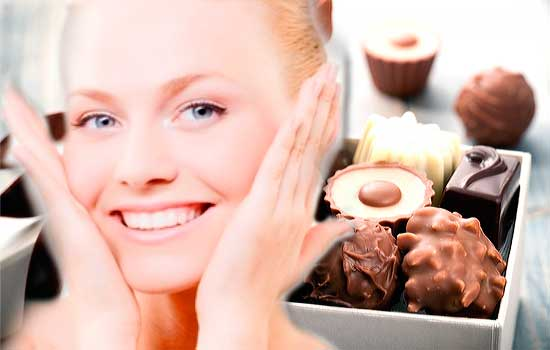 шоколад для жирной кожи, фото