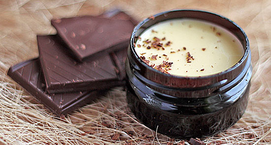 Масло какао с шоколадом, фото