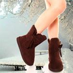 ноги в зимних сапогах