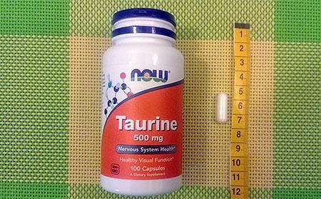 Now Foods, Таурин,