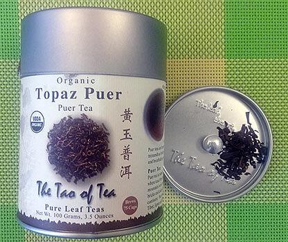 The Tao of Tea topaz, фото