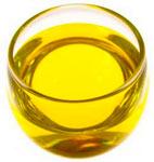 масло в стакане, фото