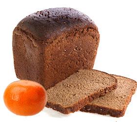 Mandarynki z chleba żytniego, zdjęcia