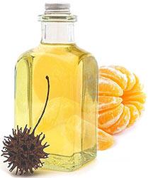 Mandarynka z olejem rycynowym, zdjęcia